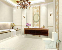 Professional 3D Interior Rendering Design for Neo Classical Style Bathroom with Material Sets BF12-05234d