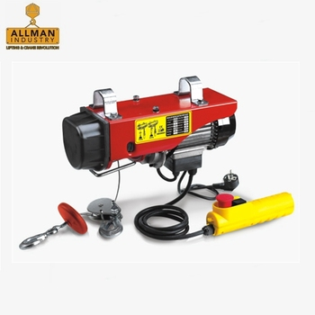 China golden supplier ALLMAN PA Mini Type Electric Cable Hoist With Wireless Remote Control