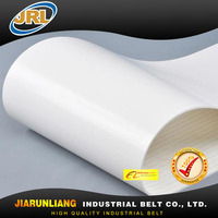 food grade white pu conveyor belt for cooling conveyor