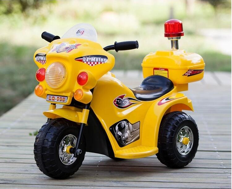Hot sale factory price 2 motor kids mini electric ride on motorcycle car with light