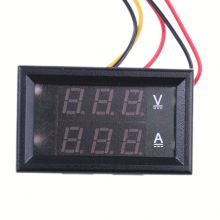 Car battery 12v digital panel meter ,h0tb4 voltage current power meter display for sale