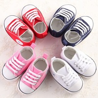 High Quality Infant Toddler Casual Baby Shoes 2017 Wholesale Baby Canvas Shoes
