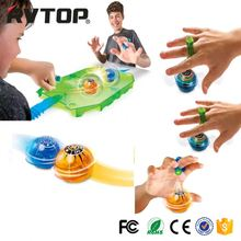 Wholesale finger fidget magneto sphere toy ball kids magnetic fidget spinner with LED light