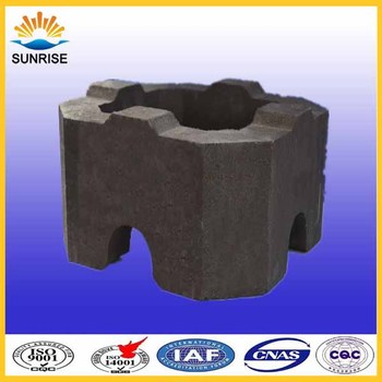 Magnesia Refractory Series Products Chrome Magnesite Bricks for Furnace