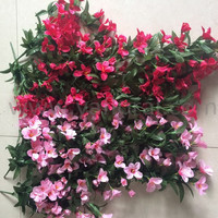 Wholesales Wedding Spray plastic artificial decorative vines artificial grape vines artificial grape leaves with Flowers