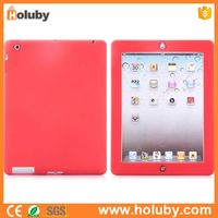Soft Silicone Cover Case for iPad 2 the New iPad iPad 4 NO MOQ PayPal Accept