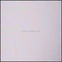 100 cotton gingham check woven fabric for garments