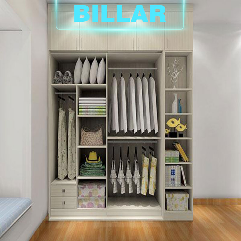 European standard mdf small wardrobe designs simple style