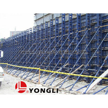 Concrete steel formwork panel for column board