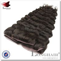 2016 Super Quality Hair Product Brazilian Silk Base Top Closure Hair Product