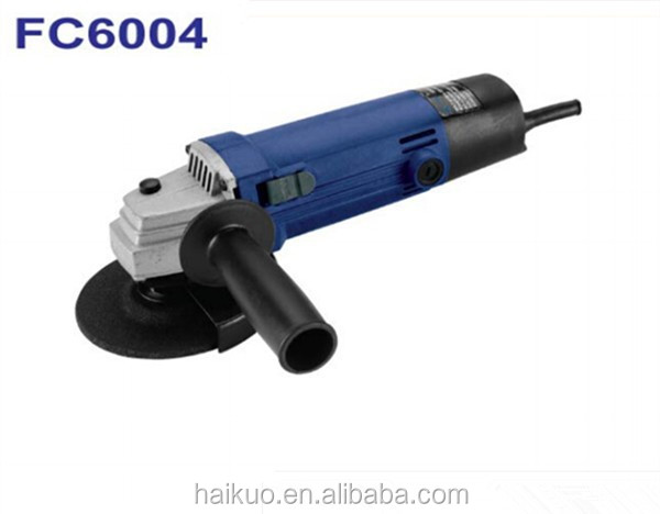 FC6004 115MM 4.5Inch 500W 5.8A Electric Angle Grinder Cheap China Power Tool