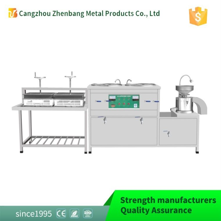 Factory new design high viscosity soya bean curd machine