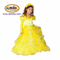 Belle costume (02-8006) as princess dressup costume with ARTPRO brand