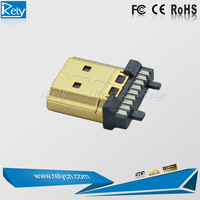 new product 1080p HDMI connector solder