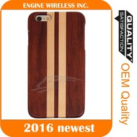 wholesale disposable phone cover unfinished wood case, for iphone 6 case wood