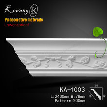 KA-1003 Polyurethane new design high density Luxury Waterproof Carving panel