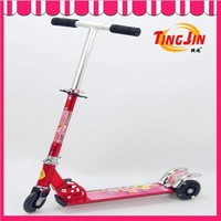 3 in 1 mini kick scooter with o-barsteering