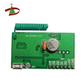 learn 40 remotes HCS301 hopping code RF receiver module