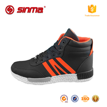 Wholesale Mens Lace Up Casual Shoes Overstocks Used Shoe small order custom sport shoe