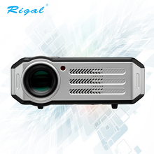 Hot sell 3200 Lumens 1080P LCD LED android wireless built-in wifi home theater projectors