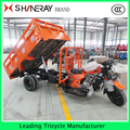 250cc Heavy duty cargo 3 wheel pickup truck tricycle with hydraulic lifter