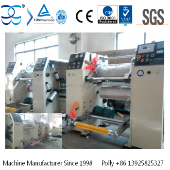 Rewinding Machine for Aluminum Foil Stretch Film