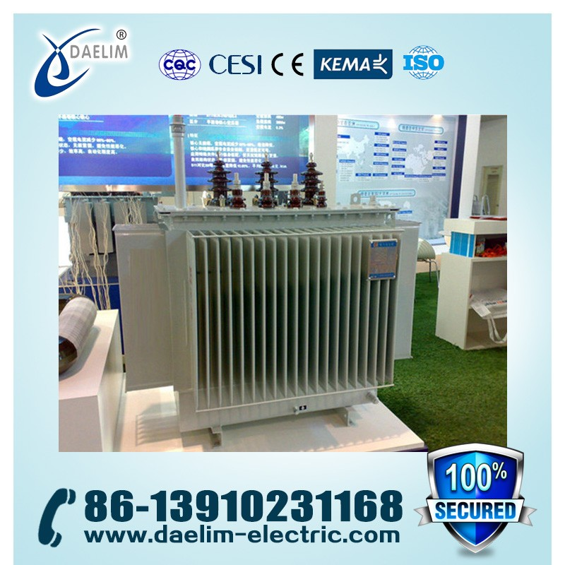 10kv 200kva Three Phase Full-sealed Oil-immersed Load-ratio Voltage Regulation Distribution Transformer