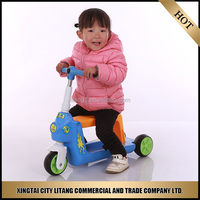 Children age kick scooter 3 wheel car for sale