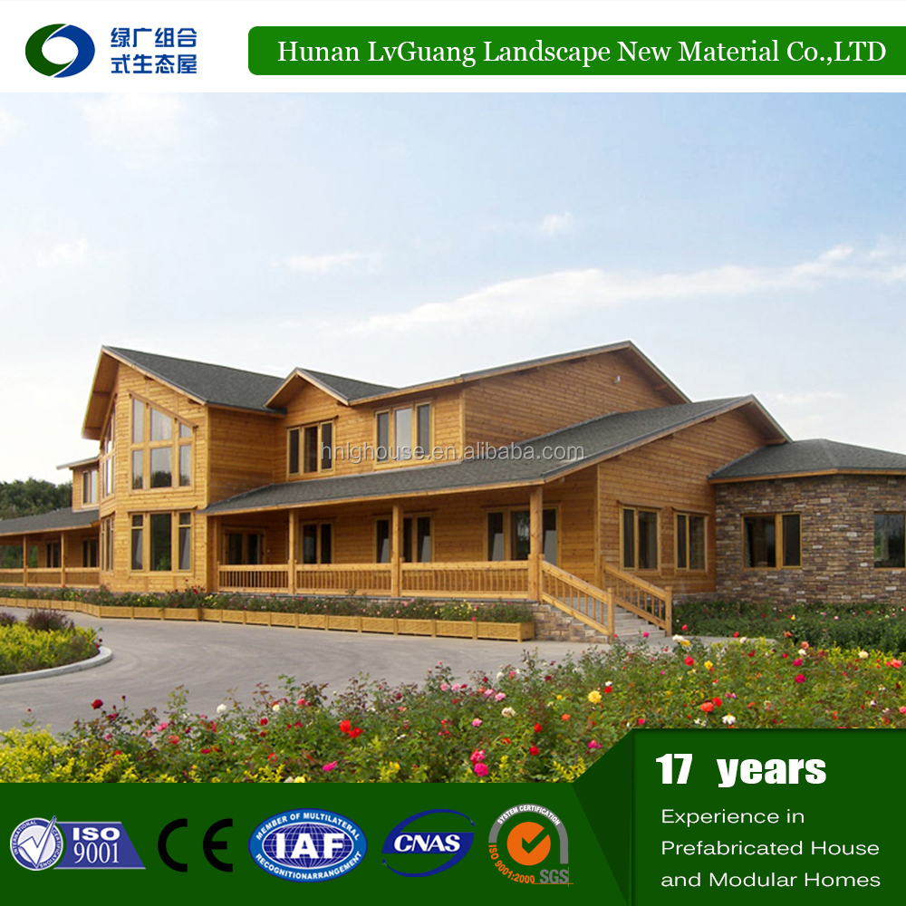 Economic project bamboo prefabricated mordern house
