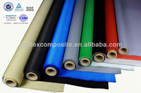 fireproof insulation coloured silicone impregnated fiberglass cloth
