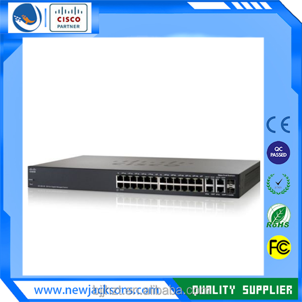 NEW Linksys Small Business SG300-28 28-Port 2x SFP Network Switch (SRW2024-K9)