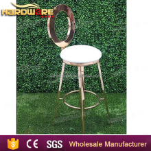 commercial french cheap golden stainless steel bar pub stools