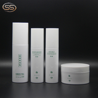 Guangzhou Factory Skin Care Cream and Lotion Packaging Empty Cosmetic Bottle Set
