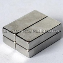 "2 "" x 1"" x 1/2 "" Block Rectangle Shape NdFeB Magnet N52/Zinc coating"