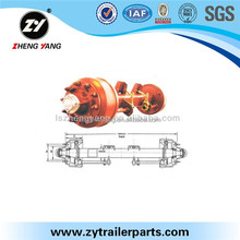 All kinds of trailer Axles parts for semi trailers
