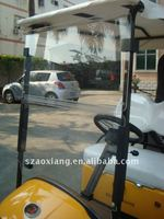 Golf Cart Windshield for EZ-GO, CLUB CAR and Yamaha, designer organic glass Golf Cart Windshield with top OEM service