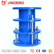 Ductile iron valve fittings flexible expansion joint