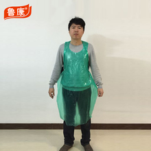 Disposable plastic polyethylene pe apron with ce certificate