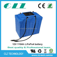 rechargeable li-ion battery pack 12v 30ah with long cycle life for HEV, UPS, Solar energy storage AGV