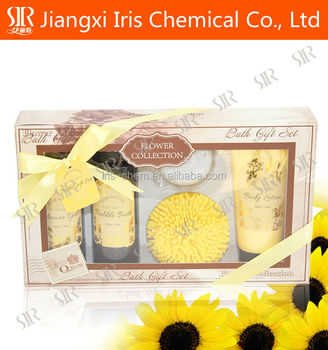 Skin Whitening Shower Gel,bath fizz with sunflower flavor