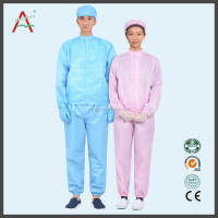 Electronic Industrial Antistatic Cleanroom Worker Jumpsuit
