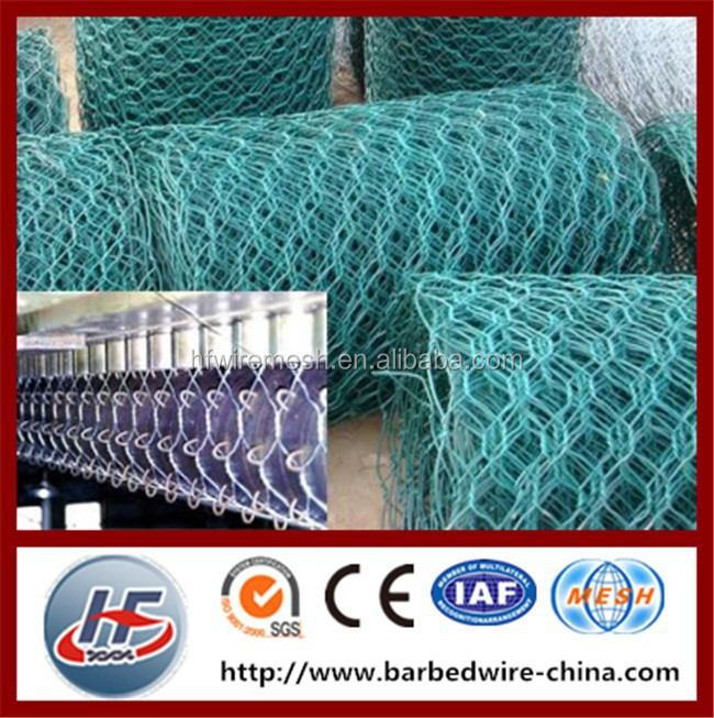 (Uniform Opening,Strong Structure)China Anping Haotong 1/2 Inch PVC Coated Hexagonal Wire Mesh,Chicken Wire Netting