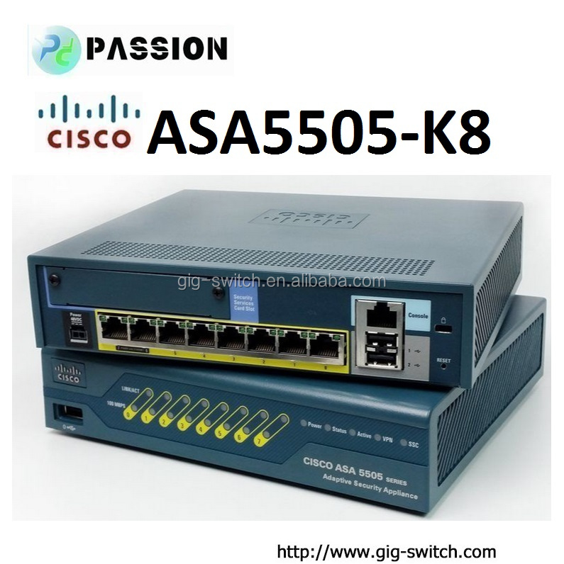 Cisco Network ASA5505-K8 firewall