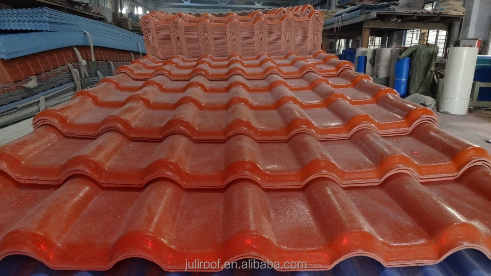 Royal aristocratic style brand new roofing tiles / synthetic resin roofing tiles