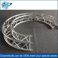 300x300mm custom wholesalesemi circle ISO 9001:2008 metal roof truss