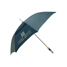 cheaper super light aluminium material promotion golf umbrella for gift and premium
