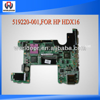 High Quality Motherboard For HP Laptop HDX16 Intel PM45 Mainboard 519220-001 Fully Tested