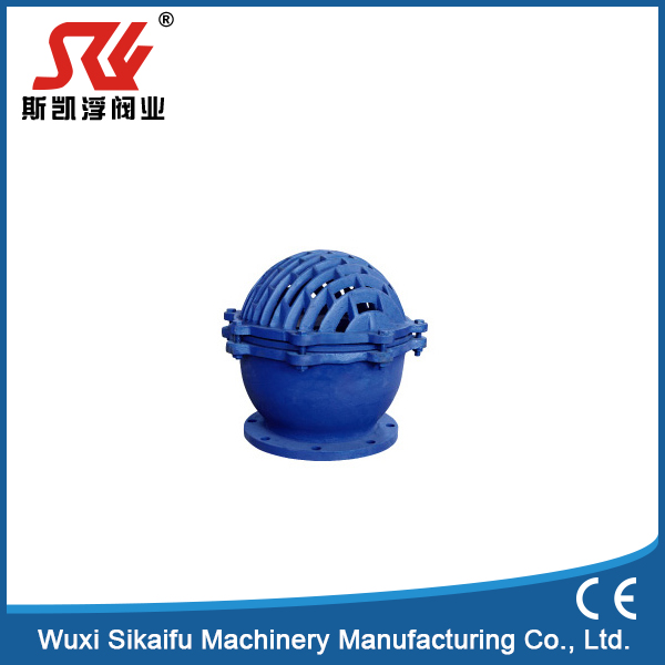 "China manufacture 2"" NPT Cast Iron Foot Valve with strainer"