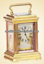 Little French Brass Cased Carriage Clock JGKF08-1A