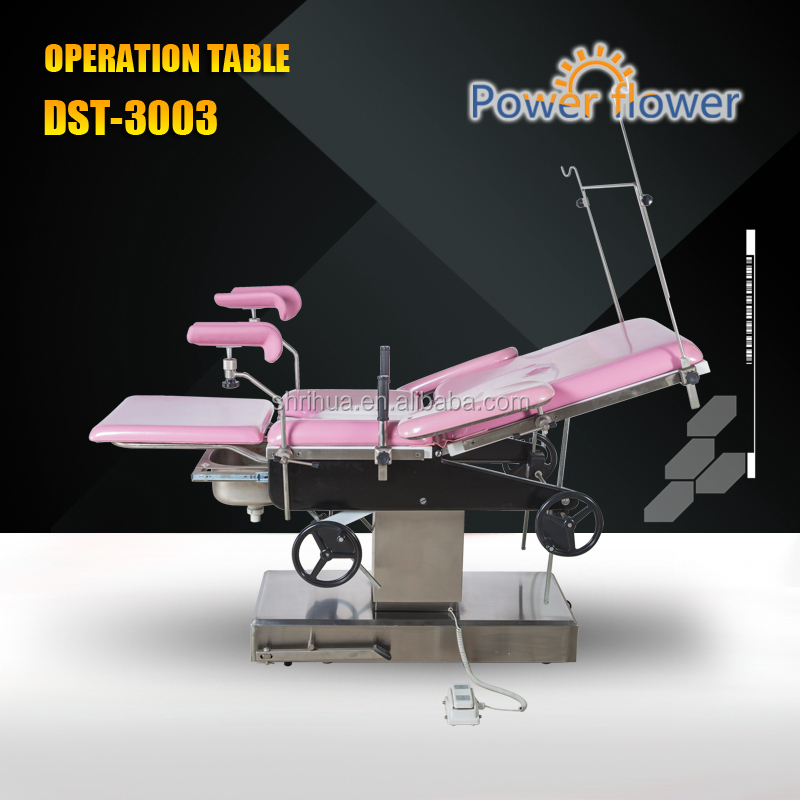 Manufactures with CE ISO stainless steel hospital equipment steel welded gynecological beds
